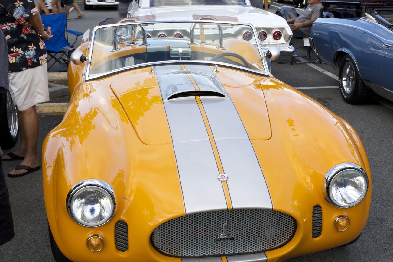 Yellow Shelby Cobra