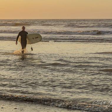 Folly Beach Sunrise- March 2020