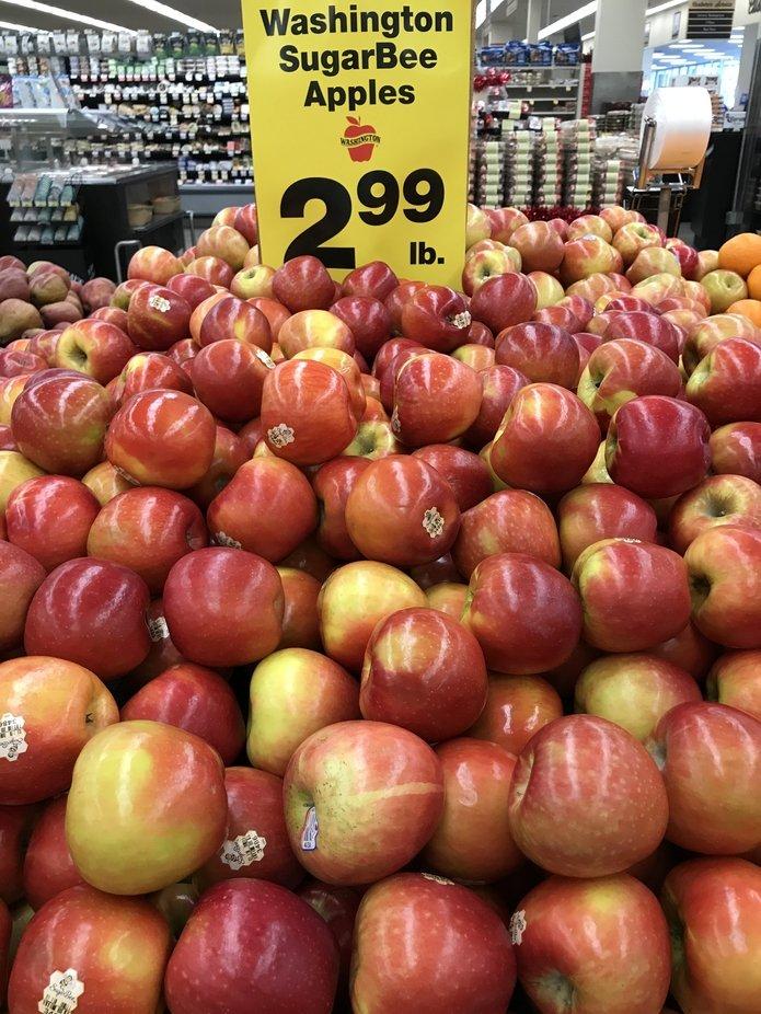 Sugar bee apples