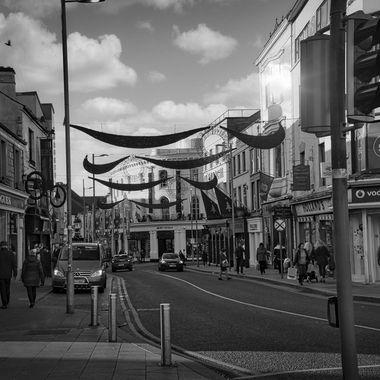 Street in Galway- Ireland