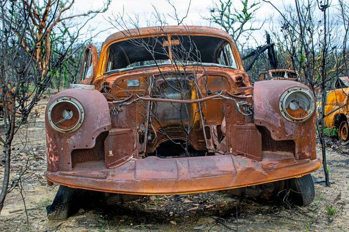 Highway to Hell Album #10 Aftermath bush Fires Australia 2020
