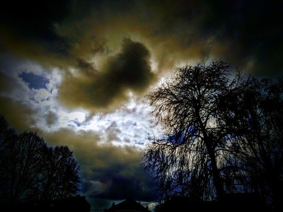 It is so beautiful how the shapes and colors of clouds can change in seconds Theo-Herbots-Photography by Theo-Herbots-Fotograaf