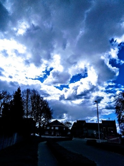 Clouds over Tienen Belgium It is so beautiful how the shapes and colors of clouds can change in seconds Theo-Herbots-Photography by Theo-Herbots-Fotograaf