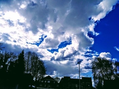Clouds over Tienen Belgium It is so beautiful how the shapes and colors of clouds can change in seconds Theo-Herbots-Photography https:--groetenuit by Theo-Herbots-Fotograaf