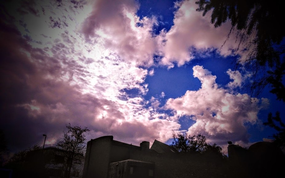 It is so beautiful how the shapes and colors of clouds can change in seconds  Theo-Herbots-Photog...