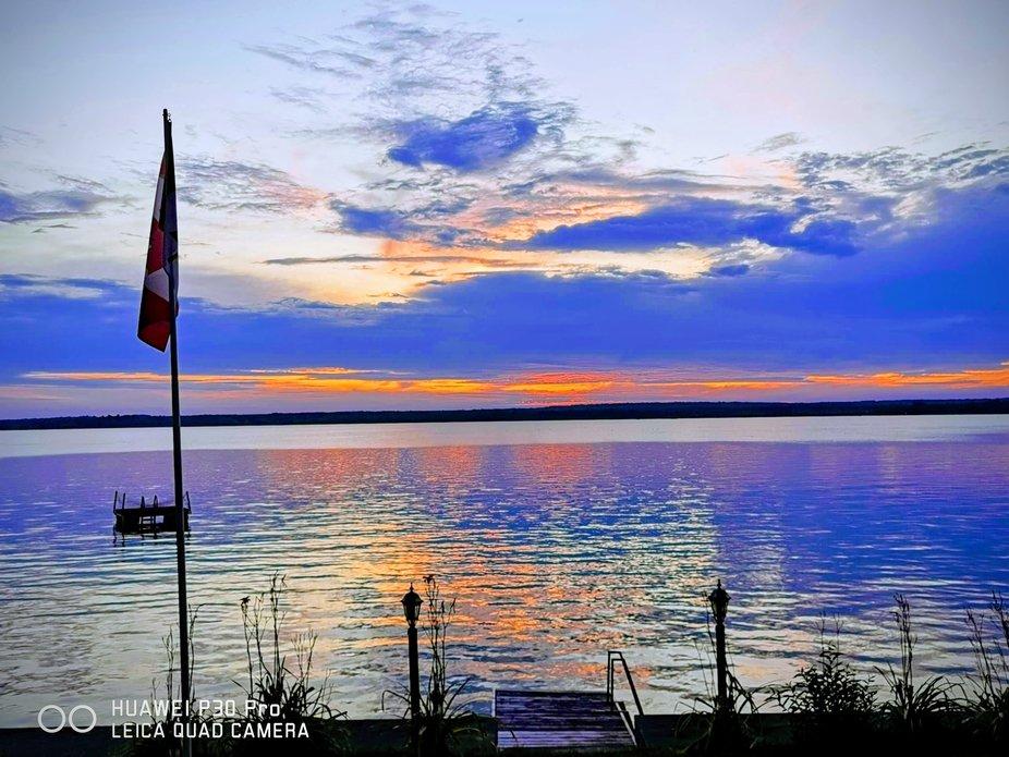 Round lake looking west Havelock Ontario