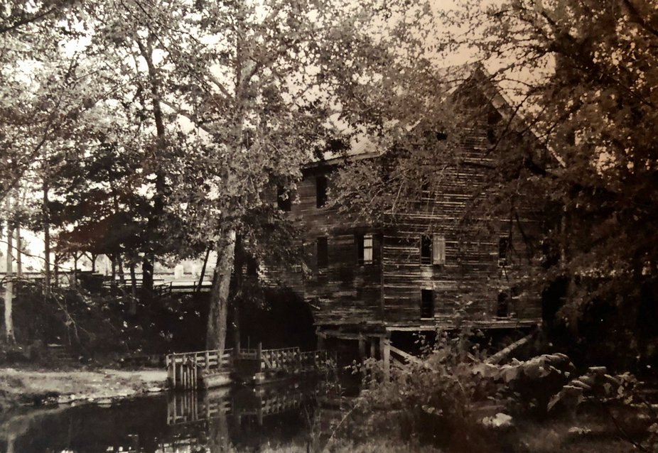 One of the few Alabama mills not destroyed during the Civil War.