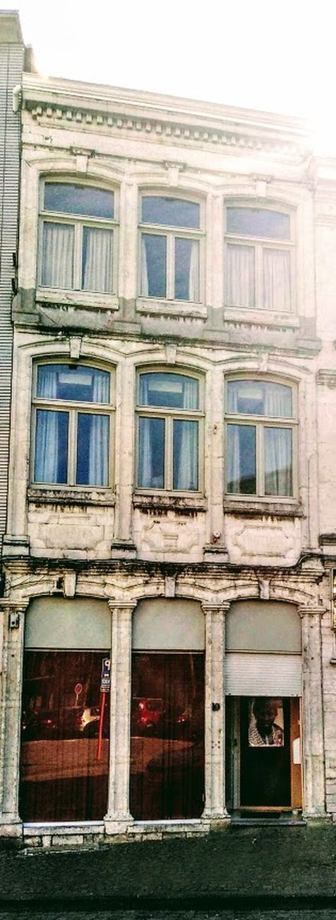 Be charmed by these beautiful facades. Check out the beautiful finishes around doors and windows. Sincerely Theo-Herbots-Photography https://groetenuittienen.blog/