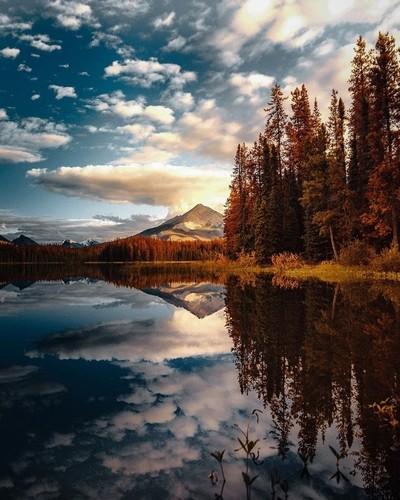 Honeymoon lake, Ab Canada
