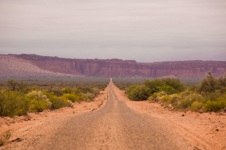 Road to Big Canyon