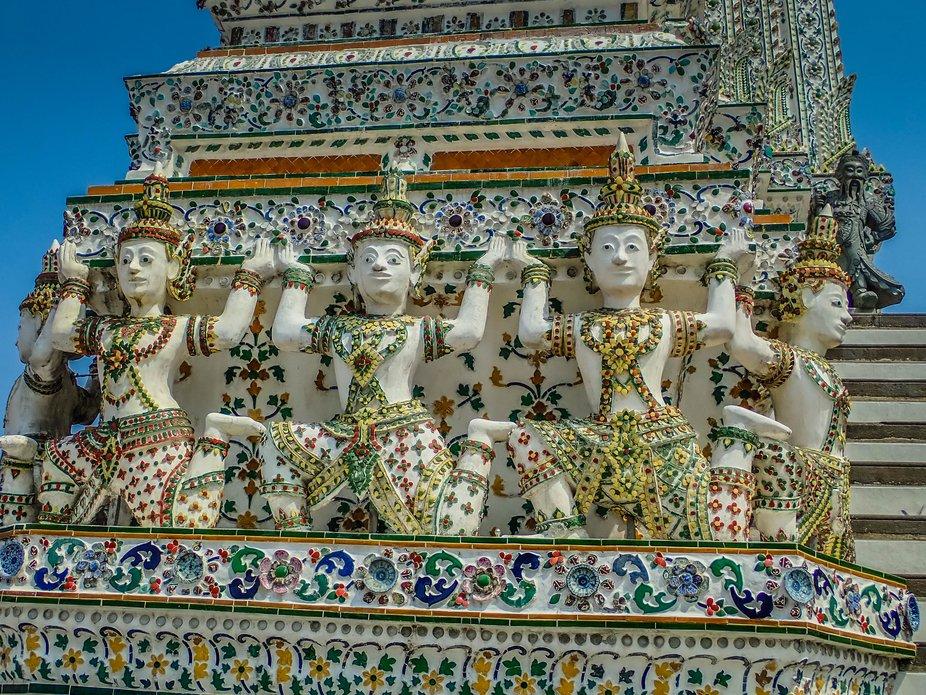 Bangkok Temple Artwork