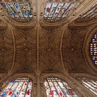 Kings College Chapel Ceiling