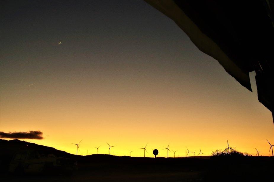 Los parques eolicos tambien proporcionan escenas