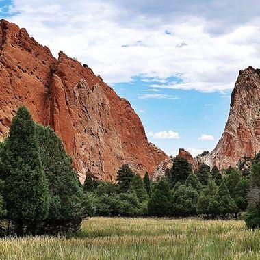Garden of the Gods in Colorado Springs, Colorado