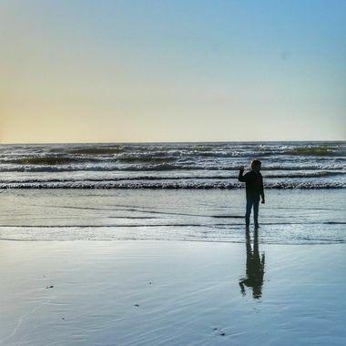 Reflection At Seaside