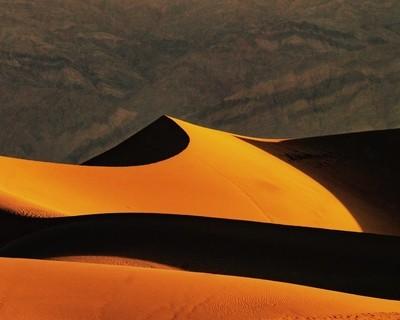 sculpted dunes death valley