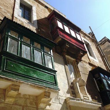 Floriana balconies