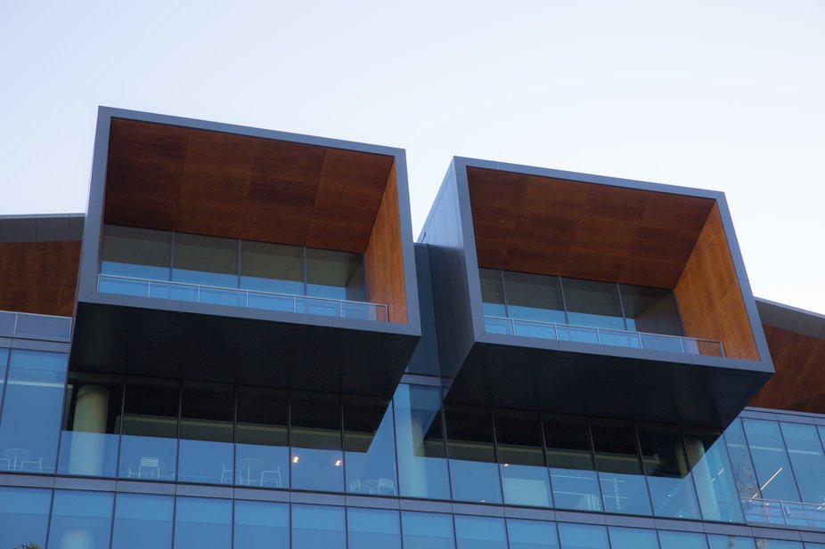Cubist building