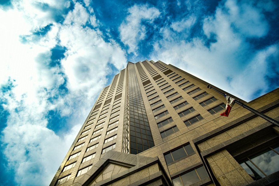 801 Grand Downtown Des Moines,IA.  Formally The Principal Building, this 45 story scraper is  bea...