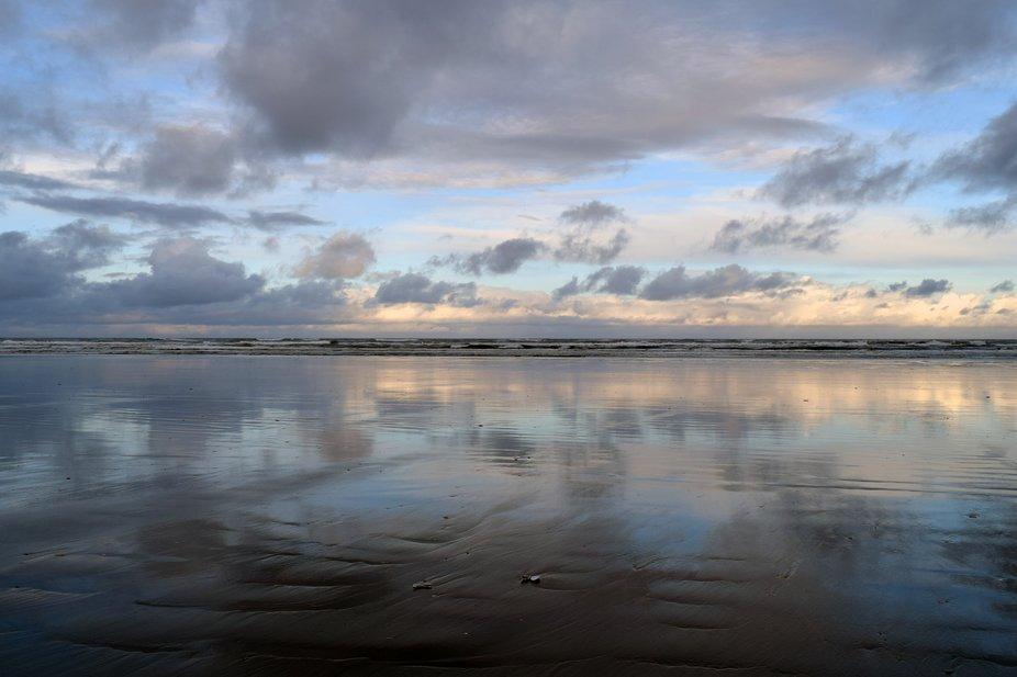 Early morning on Washington's coast..