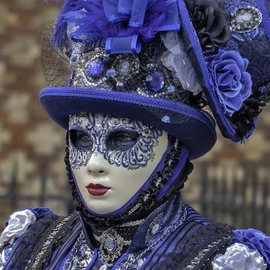 Carnevale 2020 La donna blu
