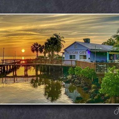 Pelican Cafe Sunrise