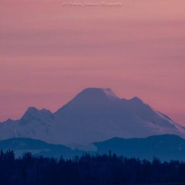 Mt. Baker a glow!
