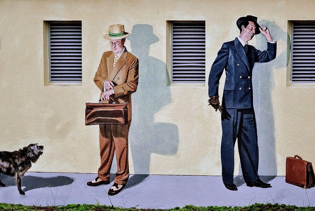 Steet Art / Mural (10 )- Napier, New Zealand