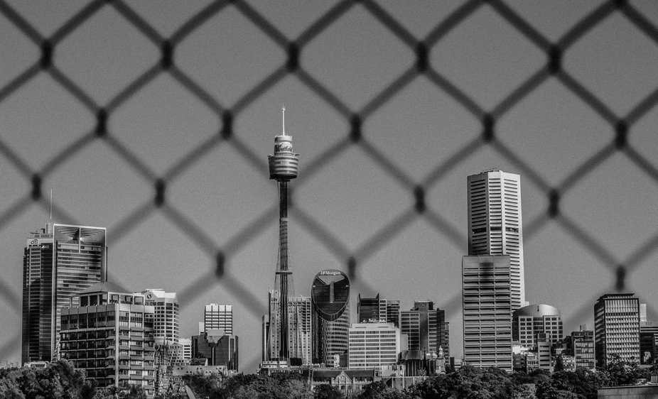 Wire fence city