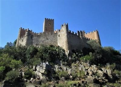 Almourol - an island castle