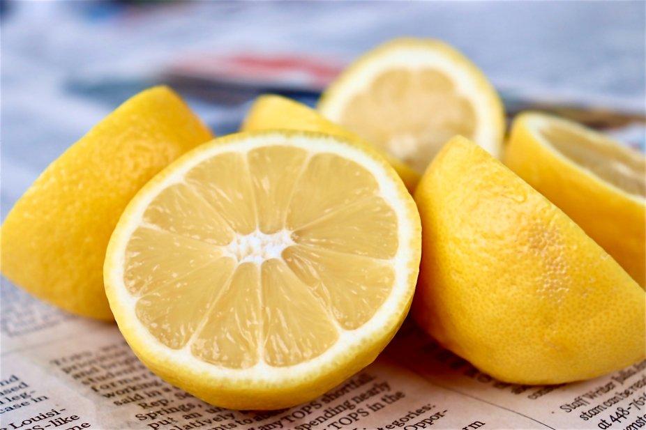 Halved Lemons