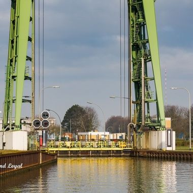 This is material from my series on inland navigation I am working on currently, covering barges on canals and on rivers, locks and a bit of transport technique. This image is from the German Wesel-Datteln Canal.