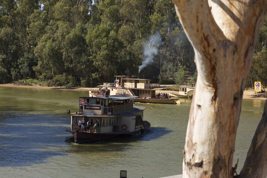 Built in 1865 by the Victorian Railways, the Port of Echuca Wharf was crucial to Echuca's devel...