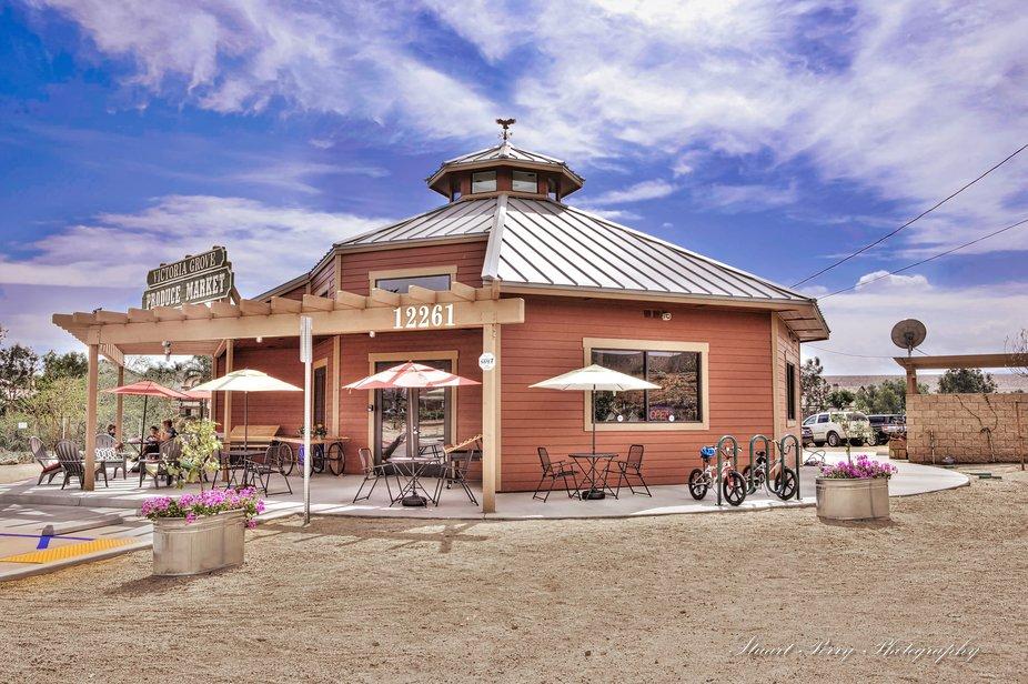 Produce Market a Victoria Grove, Riverside, CA