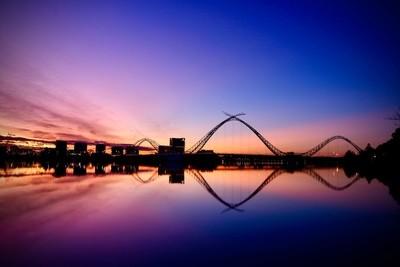 East Perth (Matagarup) Bridge