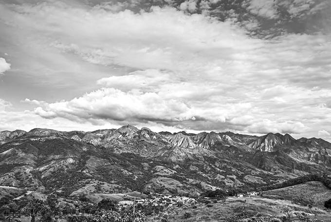 The mountains surrounding San Juan De Rioseco in Cundinamarca