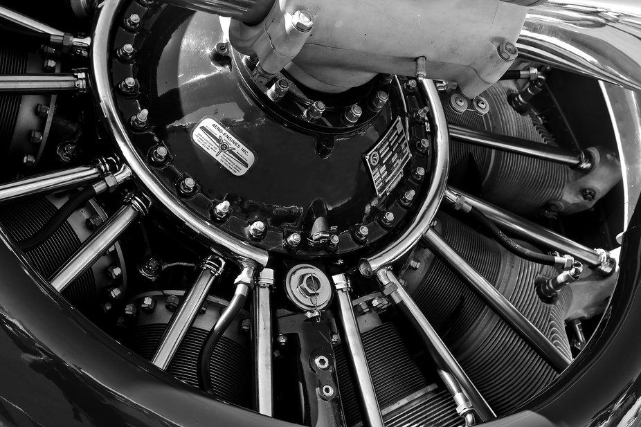 Pratt & Witney Aircraft Rotary Engine