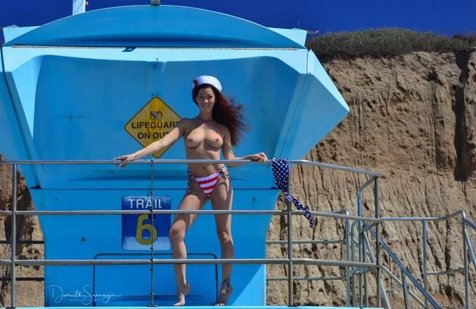 San Onofre Beach, with Amelia 2018