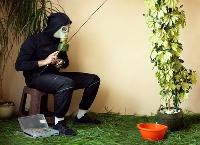 Fishing during quarantine
