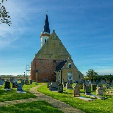 at the little town of Den Hoorn, Texel, Netherlands