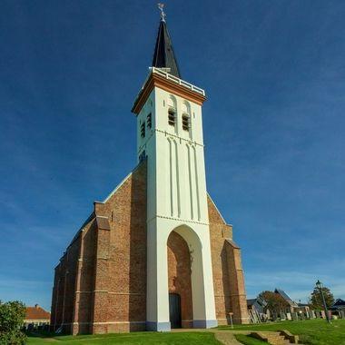 church of Den Hoorn, Texel, Netherlands