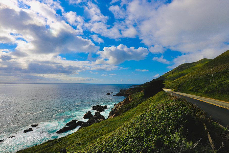 Along the Way, endless vistas and majestic landscapes await your trip along the pacific coast hwy 1 route along the California Coast.   Blue Whales, Condors, Rugged Cliffs and Isolated Beaches, soeckled with Redwood Forests, and Beautiful Homes to thise w