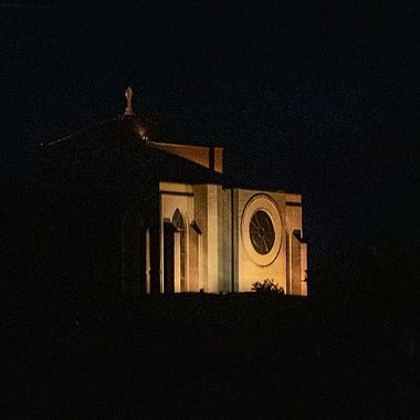 Lighted Cathederal