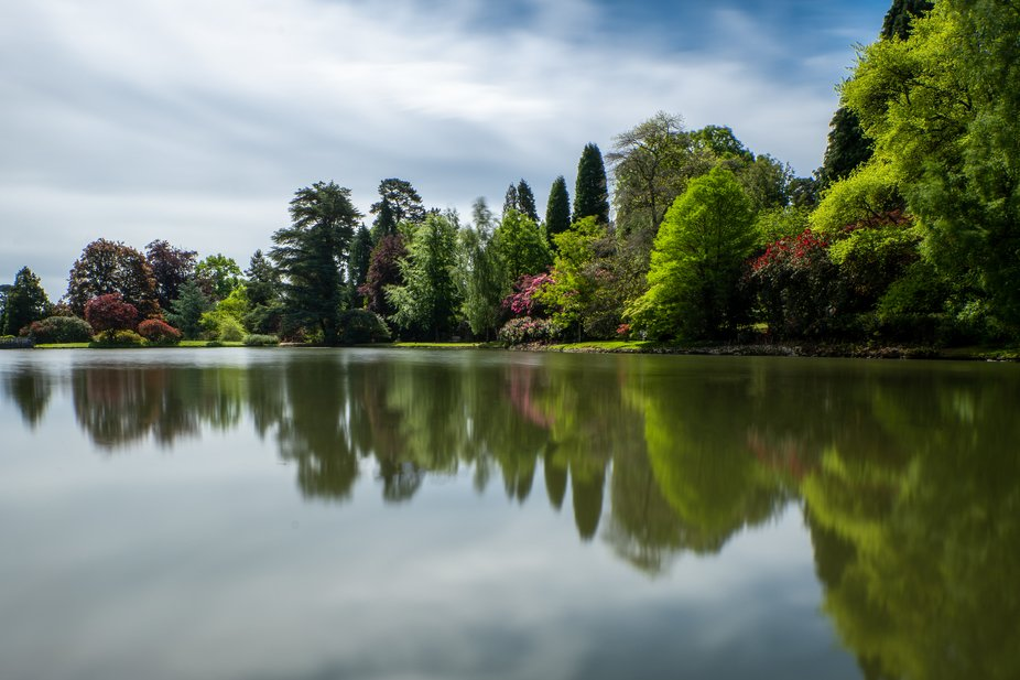 Tranquille summers day at NT Sheffield Park.