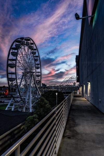 Ferris Wheel in Long Beach, Cakifornia