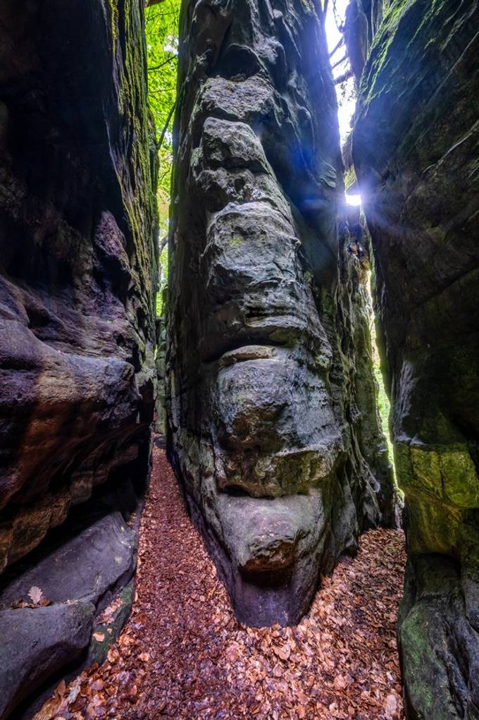 Knight's path - Mullerthal / Consdorf / Luxembourg May 2020