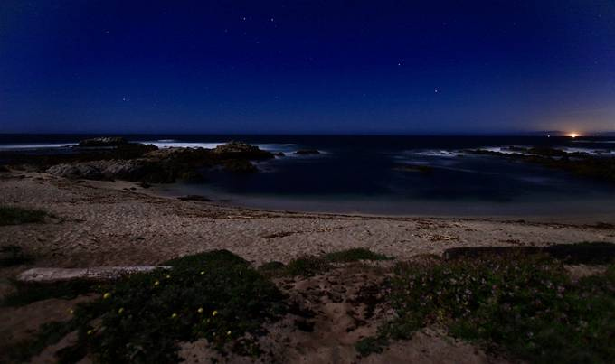 Moonlit Shores, along the Ca Central Coast
