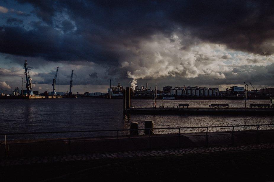 Shot taken in Hamburg, Germany
