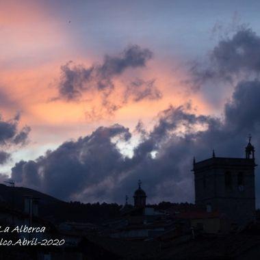 Cielo de La Alberca (Spain)