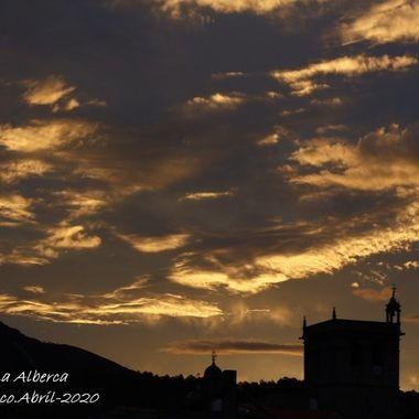 Atardecer en La Alberca (Spain)